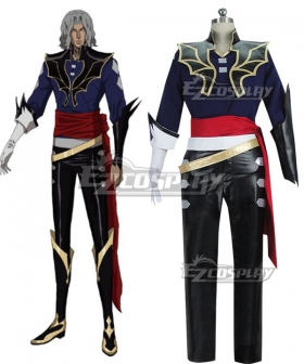 Castlevania Season 2 2018 Anime Hector Cosplay Costume