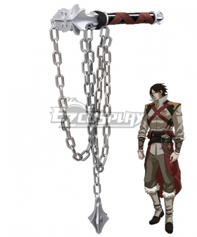 Castlevania Season 2 2018 Anime Trevor Belmont Morningstar Whip Cosplay Weapon Prop
