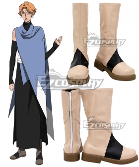 Castlevania Season 3 2020 Anime Sypha Belnades Black Yellow Shoes Cosplay Boots