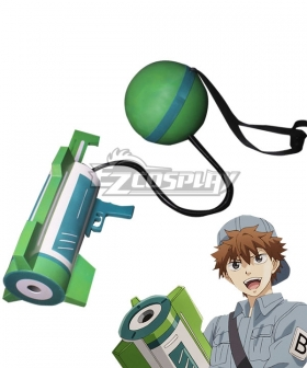 Cells At Work Hataraku Saibo B Cell Cannon Cosplay Weapon Prop