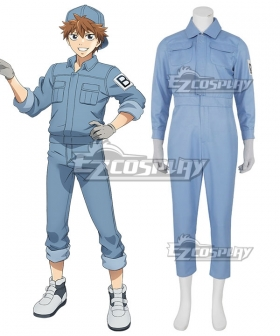 Cells At Work Hataraku Saibo B cell Cosplay Costume