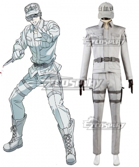 Cells At Work Hataraku Saibou Neutrophil Cosplay Costume