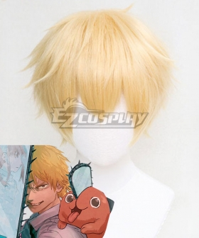 Chainsaw Man Denji Golden Cosplay Wig