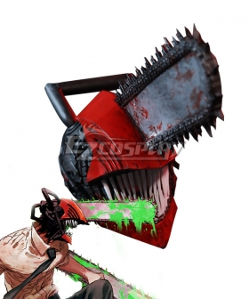 Chainsaw Man Denji Hamlet Chainsaw Cosplay Weapon Prop