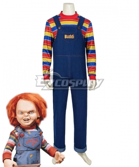 Child's Play Halloween Buddi Chucky Cosplay Costume