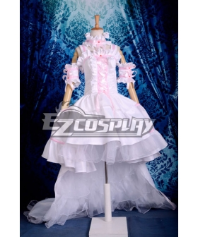 Chobits Chii Pink & White Dress Cosplay Costume
