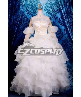 Beautiful Euphemia Li Britannia Wedding Dress Cosplay Costume Code Gaess