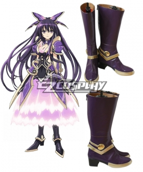 Date A Live Yatogami Tohka Princess Cosplay Shoes