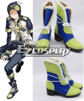 DMMD Dramatical Murder Noiz Blue And Green Cosplay Shoes