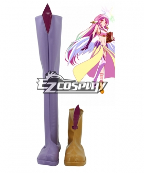 No Game No Life Jibril Cosplay Boots
