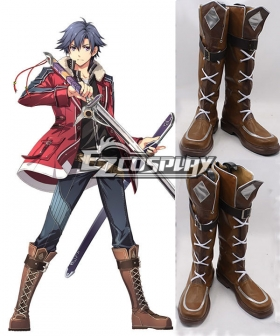 The Legend of Heroes: Sen No kiseki Rean Schwarzer Cosplay Boots