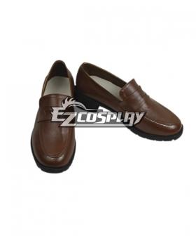 White Album 2 Touma Kazusa Cosplay Brown Shoes