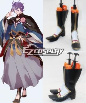 Touken Ranbu Kasen Kanesada Cosplay Shoes