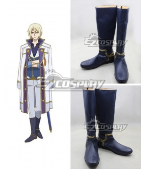 Snow White with the Red Hair kagami no Shirayukihime Izana Wistalia Izana Wishtaria Boots Cosplay Shoes
