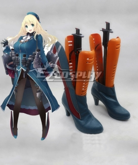 Kantai Collection Takao Class Heavy Cruiser Atago Cosplay Shoes