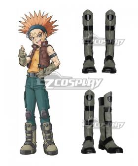 Yu-Gi-Oh! Yugioh 5D's Crow Hogan Cosplay Flat Shoes