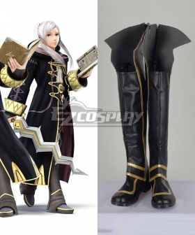 Fire Emblem Awakening Female Robin Black Or Brown Shoes Cosplay Boots
