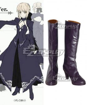 SABER TYPE-MOON-Saber Alter 2nd Ver Cosplay Boots