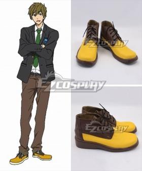 Free! Tachibana Makoto Yellow Cosplay Shoes
