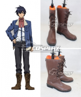 Akame ga Kill Wave Brown Cosplay Boots