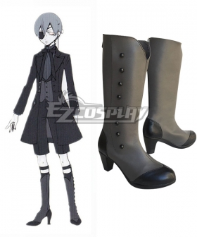 Black Butler Ciel Phantomhive Halloween Boots