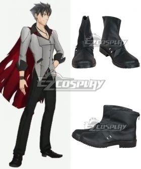 RWBY Qrow Branwen Black Cosplay Shoes - A Edition
