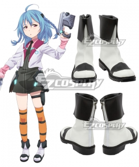 Gakusen Toshi Asterisk Academy Battle City Asterisk The Asterisk War The Academy City of the Water Saya Sasamiya White Cosplay Shoes
