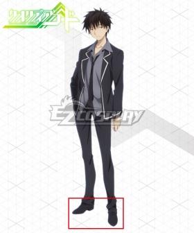 Qualidea Code Kasumi Chigusa Black Cosplay Shoes