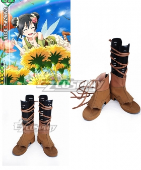 Love Live Flower Fairy Awake Nico Yazawa  Shoes Cosplay Sandals