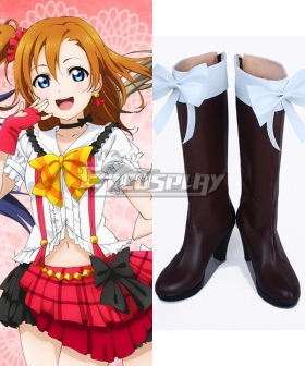 Love Live School Idol Project Nico Yazawa  Shoes Cosplay Boots
