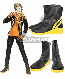 Pokemon GO Pokemon Pocket Monster Spark Team Instinct Black Cosplay Shoes