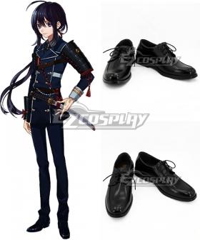 Touken Ranbu Namazuo Toushirou Black Cosplay Shoes