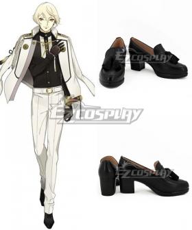 Touken Ranbu Higekiri Black Cosplay Shoes