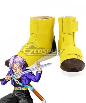 Dragon Ball Torankusu Yellow Shoes Cosplay Boots