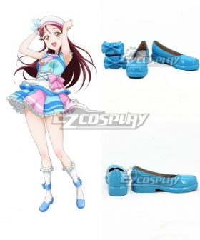 LoveLive! Sunshine!! Aqours Sakurauchi Riko Blue Cosplay Shoes