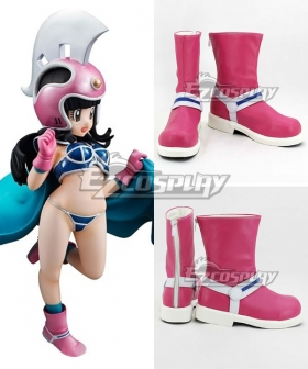 Dragon Ball Chi Chi Pink Shoes Cosplay Boots
