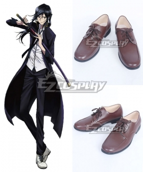 K Yatogami Kuroh Brown Cosplay Shoes