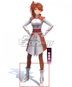 Sakura Wars Shin Sakura Taisen Hatsuho Shinonome White Cosplay Shoes
