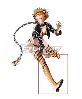 Juuni Taisen Zodiac War Kanae Aira Tiger Tora Orange Shoes Cosplay Boots