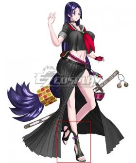 Fate Grand Order FGO Lance Minamoto no Yorimitsu Minamoto no Raikou Black Cosplay Shoes