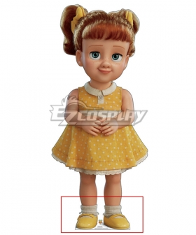 Disney Pixar Toy Story 4 Gabby Yellow Cosplay Shoes