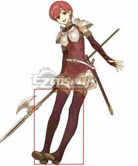 Fire Emblem Echoes: Shadows of Valentia Est Brown Shoes Cosplay Boots