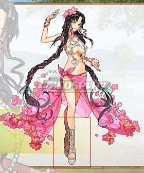Fate Grand Order Alterego Sesshouin Kiara Ascension 5th anniversary White Cosplay Shoes