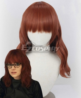 Cruella 2021 Movie Estella Red Cosplay Wig