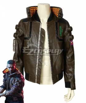 Cyberpunk 2077 Character Male Cosplay Costume B Edition - Only Coat