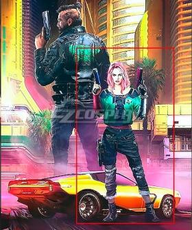 Cyberpunk 2077 Street Kid Female Girl Cosplay Costume