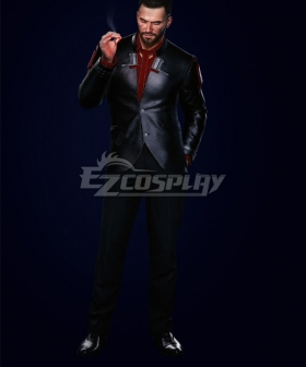 Cyberpunk 2077 V Male Corporate Cosplay Costume