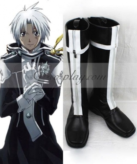 D Gray man Allen Walker 1st Uniform Cosplay Boots