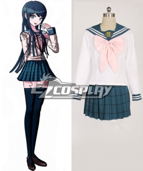 Dangan Ronpa Sayaka Maizono School Uniform Cosplay Costume