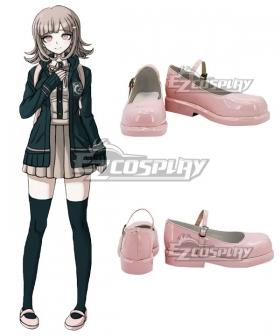 Danganronpa 2 Chiaki Nanami Pink Cosplay Shoes